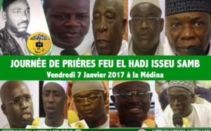 VIDEO - Suivez la Journée de Prières dédiée à Feu El Hadj Isseu Samb (rta), Vendredi 7 janvier 2017 à la Médina