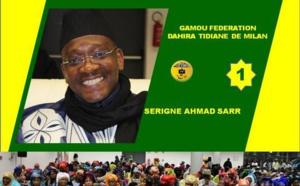 VIDEO - MILAN (ITALIE)- Suivez le Gamou 2016 de la Fédération Tidjane de Milan présidé par Serigne Ahmed Sarr et animé par Cheikh Diop et son groupe
