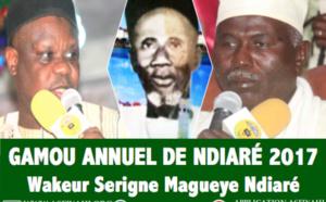 VIDEO - Suivez le Gamou de Ndiaré Ouakhy 2017, Wakeur Serigne El Hadj Maguèye Ndiaré (rta), célébré ce Mercredi 18 janvier