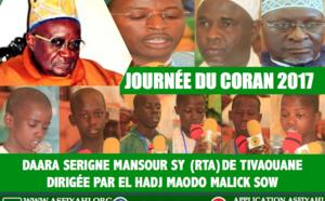 VIDEO - 21 JANVIER 2017 À TIVAOUANE - Suivez la journée du Coran du Daara Serigne Mansour Sy, dirigée par El hadj Maodo Malick  Sow