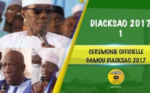 VIDEO - 1ERE PARTIE - Gamou Dacksao 2017 - Cérémonie Officielle - Suivez le Discours de Serigne Habib Sy Dabakh