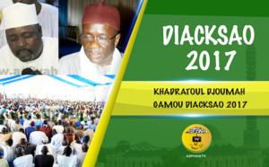 VIDEO - DIACKSAO 2017 - Suivez la Hadratoul Djoumah, suivie d'un entretien avec Serigne Pape Makhtar Kébé