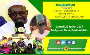 VIDEO - ITALIE - VARESE : Suivez l'appel du Gamou Varese 2017 de la  Fèdèration Lombardia Piemonte le samedi 22 juillet 2017 à Malpensa Fiera