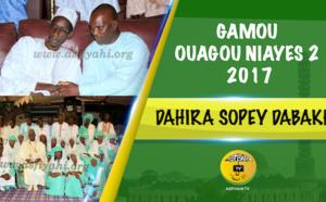 VIDEO - Suivez le Gamou 2017 Dahira Sopey Dabakh de Ouagou Niayes 2, présidé par Serigne Mame Ousmane SY Dabakh