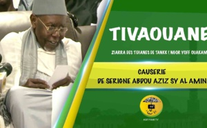 VIDEO - TIVAOUANE - Ziarra de la coordination des Tidianes de Tankaa, Ouakam Ngor et Yoff - Causerie de Serigne Abdoul Aziz Sy Al Amine