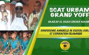 VIDEO - Suivez la Conférence annuelle de Récital du Saint Coran du Daara El Hadj Cheikh Niang de Scat urbam