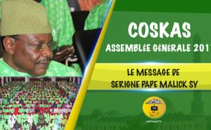 VIDEO - TIVAOUANE - Suivez l'Assemblée Générale du COSKAS, édition 2017, présidée par Serigne Pape Malick Sy