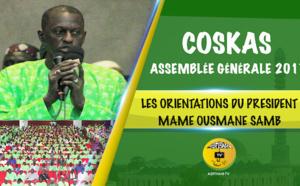 VIDEO - TIVAOUANE - Assemblée Générale du COSKAS 2017: Les orientations du Président Mame Ousmane Samb