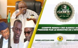 VIDEO - GAMOU TIVAOUANE 2017 - Le Compte Rendu du CRD presidé par le Ministre de l'Intérieur