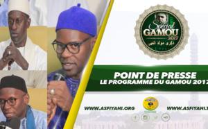 VIDEO - POINT DE PRESSE GAMOU TIVAOUANE 2017 - La Cellule Zawiya Tidjane et le Coskas dévoilent le Programme du Gamou 2017