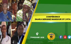 VIDEO - TIVAOUANE - Suivez la Conférence du Daara Serigne Mansour Sy de Tivaouane, présidée par Serigne Maodo SY Ibn Serigne Mbaye Sy Mansour, Serigne Mame Malick Sy Mansour