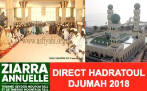 REPLAY - ZIARRA OMARIENNE 2018 - Revivez la Hadratoul Djumah de la Mosquée Omarienne de ce vendredi 26 janvier 2018
