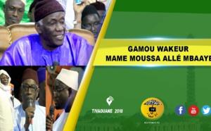 VIDEO - TIVAOUANE- Suivez le Gamou Mame Moussé Allé Mbaaye, édition 2018, présidé par Serigne Mbaye Sy Abdou
