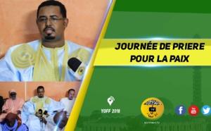 VIDEO - YOFF - Journée de Prière  pour la Paix : Déclaration de  Cherif Ahmed Lamine Aidara