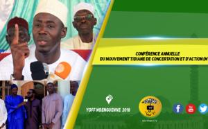 VIDEO - YOFF MBENGUENE - Conférence Ramadan 2018 du Mouvement Tidiane de Concertation et d'action (MTCA)
