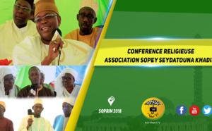VIDEO - SOPRIM 2018 - Suivez la Conférence de l'association Sopé Seydatouna khadija, Mère des Croyants , dirigée par Adja Ouly Niang
