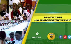 VIDEO  - HANN MARISTE 2018 - Le film de la Hadratoul Djumah Abna u Hadrati Tijany Section Mariste
