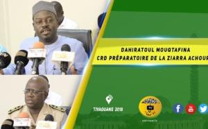 VIDEO - CRD PREPARATOIRE DE LA ZIARRA ACHOURA 2018/1440: D'importantes mesures prises ; Le vibrant appel de Serigne Moustapha Sy Abdou