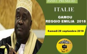 VIDEO - ITALIE - REGGIO EMILIA : Suivez l'appel de la Fédération des Dahiras Tidianes Emila Romagna prévu le samedi 29 septembre 2018 sous la présence effective de serigne Habib SY Mansour