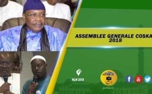 VIDEO - Suivez  la Cérémonie de Clôture de l'assemblée Générale du COSKAS, édition 2018