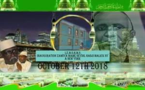 Inauguration Zawiya de New York ce Vendredi 12 Octobre 2018: L'appel de la Jeunesse