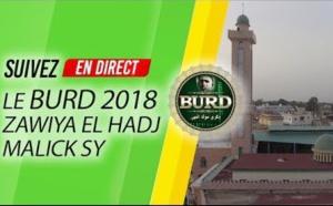 VIDEO : Suivez en DIRECT TIVAOUANE -  9iéme Burd de la Zawiya El Hadj Malick SY