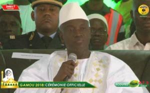 Gamou 2018 - Le discours du Ministre de l'intérieur Aly Ngouille N'diaye