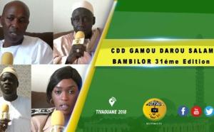 VIDEO -  Suivez Le CDD du Gamou Darou Salam GAYE de BAMBILOR 2019 31éme Edition