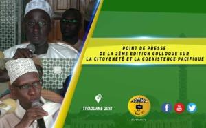 VIDEO -  Lancement de la 2éme Edition Colloque de l'AIS sur  la Citoyenneté et la Coexistence Pacifique