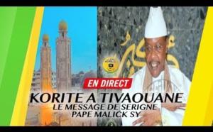 DIRECT TIVAOUANE - Priere Eid El Fitr (Korite) à la Mosquée Serigne Babacar Sy