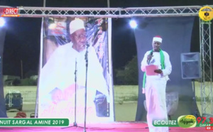 VIDEO - TIVAOUANE - Nuit Religieuse Sargal Al Amine 2019