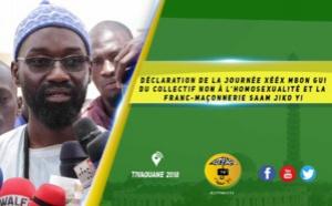 VIDEO -  Déclaration de la Journée Xééx Mbon Gui du Collectif Non à l'homosexualité et la  Franc-Maçonnerie Saam Jiko Yi