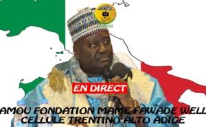 DIRECT ITALIE - Gamou Fondation Mame Fawade Welle présidé par Serigne Habib Sy Mansour