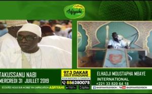 L'intervention d'Abdoul Aziz Mbaaye dans l'émission Takussan Naby de la 97.3 Asfiyahi FM