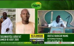 DIRECT ARAFAT 2019 - Réaction du Ministre de l'intérieur Aly Ngouille Ndiaye sur la radio Asfiyahi
