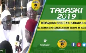 Tabaski 2019 - Mosquée Serigne Babacar Sy - Le message de Serigne Cheikh Tidiane Sy Mansour