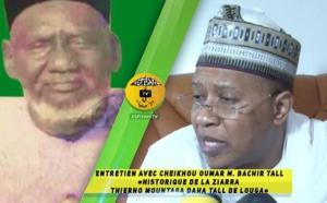 VIDEO -  Entretien avec Cheikhou Oumar Tall Bachir : Historique de la Ziarra Thierno Mountaga Daha Tall de LOUGA