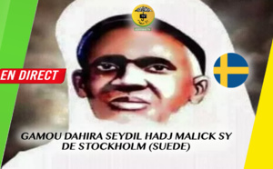 DIRECT SUÈDE - Suivez le Gamou Annuel Dahira Seydi El Hadji Malick Sy (RTA)  Stockholm