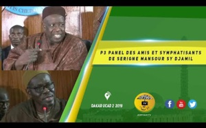 VIDEO -PANEL des Amis et Sympathisants de Serigne Mansour Sy Djamil