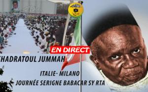 DIRECT MILAN - Khadratoul Jummah Journée Serigne Babacar Sy, présidée par Serigne Moustapha Sy Abdou