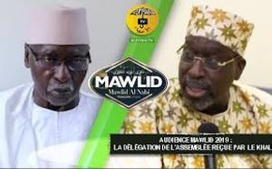 AUDIENCE MAWLID 2019: La Délégation de l'assemblée Nationale reçue par le Khalif Général des Tidianes