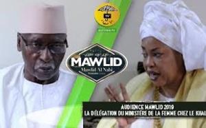 AUDIENCE MAWLID 2019 - La Délégation du Ministère de la Femme chez le Khalif