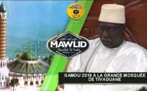 NUIT DU GAMOU 2019 à la Grande Mosquée de Tivaouane - Le Message du Khalif