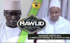 Audience Mawlid 2019 : Le Directeur Général de la POSTE Aboulaye bibi BALDE reçu par le Khalif