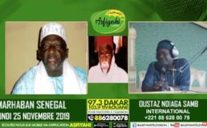 VIDEO - Imam Abdallah Sall invité de Asfiyahi FM raconte Serigne Abass Sall et la Tidjaniyya