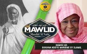 Exclusif - Gamou ak Sokhna Ndeye Marieme Sy Djamil « FEMME ET VALEURS EN ISLAM »