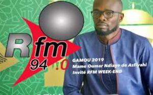 Asfiyahi, invité de RFM WEEK-END Gamou Tivaouane 2019 , 9 Novembre