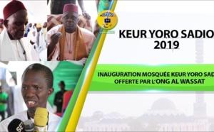 Inauguration Mosquée Keur Yoro Sadio offerte par l'ONG Al WASSAT