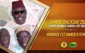 VIDEO - DECLARATION - Gamou Diacksao 2020- L'appel du Khalif General des Tidianes Serigne Babacar SY Mansour