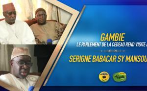 VIDEO - GAMBIE - Serigne Babacar SY Mansour reçoit une delegation du Parlement de la CEDEAO conduite par Moustapha Cissé Lô: Les Conseils et recommandations du Khalif General des Tidianes